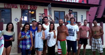 lovina krui surf guests
